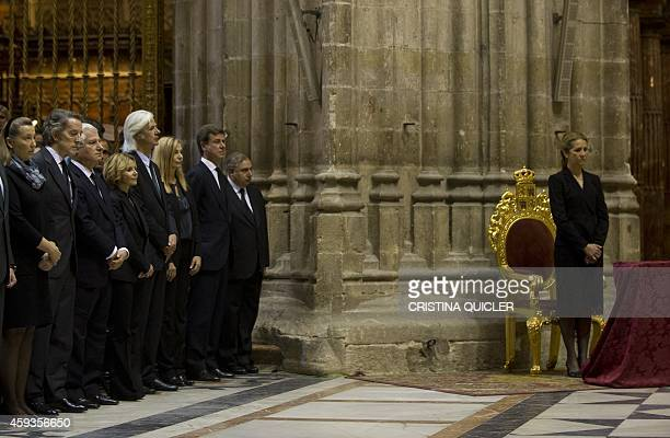 Sons of Spain's Duchess of Alba Maria del Rosario Cayetana FitzJamesStuart Carlos Martinez de Irujo Eugenia Martinez Jacobo Martinez de Irujo...