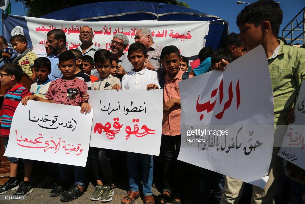 Protest in Gaza : News Photo