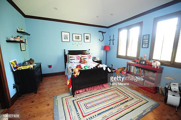 Sons room at Jon Secada's home on January 13 2011 in Coral Gables Florida