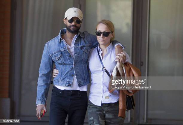 Sonsoles Suarez and Paulo Wilson are seen on March 31 2017 in Madrid Spain