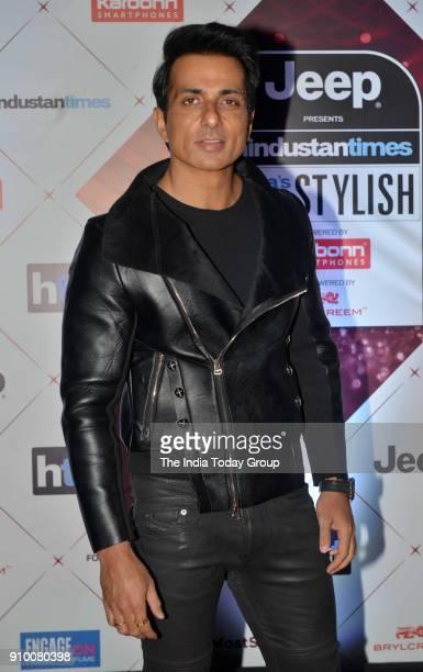 Sonu Sood arrives at the HT Indias Most Stylish Awards 2018 in Mumbai