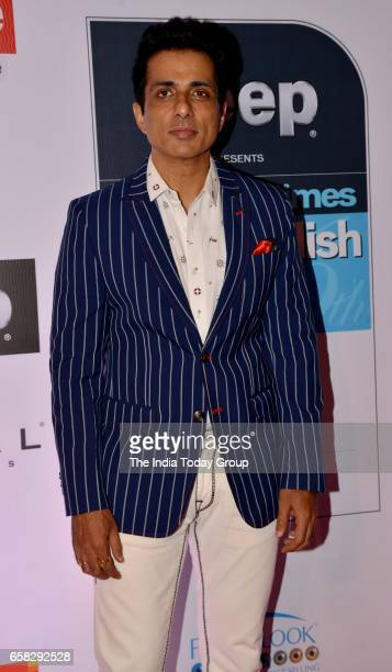 Sonu Sood at HT Most Stylish Awards 2017 in Mumbai