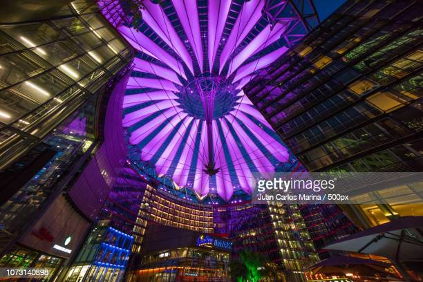 sony center - sony center berlin stock pictures, royalty-free photos & images