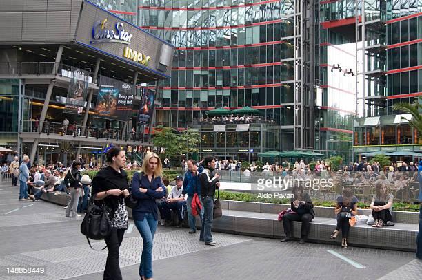 Sony Center, Postdamer Platz.