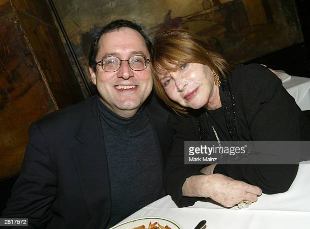 "Sony Corporation co-president Michael Barker and actress Lee Grant attend the after party for the Sony Pictures Classics VIP screening of ""The..."