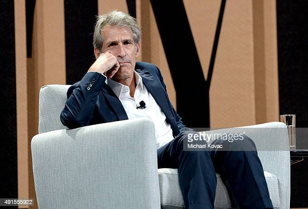 Sony Entertainment CEO Michael Lynton speaks onstage during It Could Happen to You—How the Sony Hack Changed Business at the Vanity Fair New...