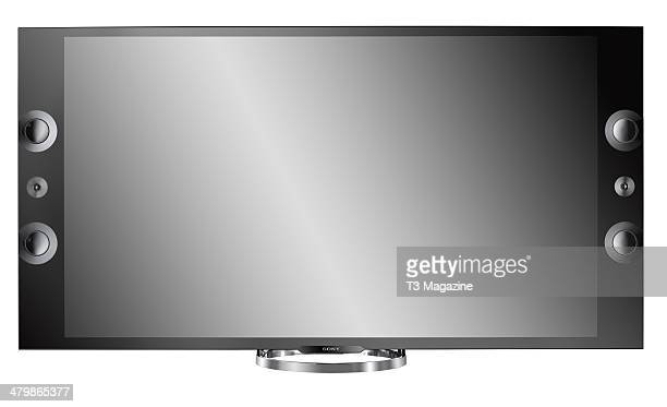 A Sony KD65X9005A Ultra HD television photographed on a white background taken on July 25 2013