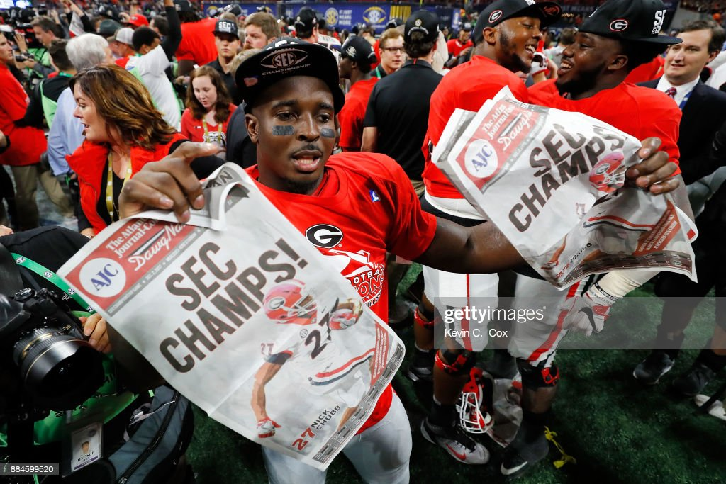 SEC Championship - Auburn v Georgia : News Photo