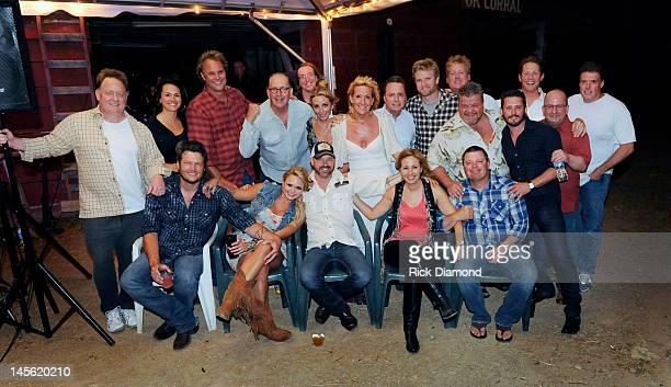 Sony Music Nashville's Gary Overton ASCAP's Leann Phelan producer Scott Hendricks Warner Music's John Esposito artist Ashley Monroe Wrensong...