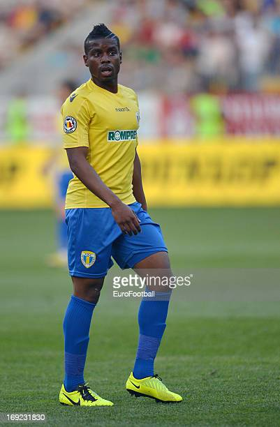 Sony Mustivar of FC Petrolul Ploiesti in action during the Romanian First Division match between FC Petrolul Ploiesti and FC Astra Ploiesti held on...