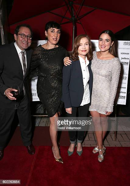 Sony Pictures Classics CoPresident Michael Barker actors Rossy de Palma Isabelle Huppert and Adriana Ugarte attend the Sony Pictures Classics TIFF...