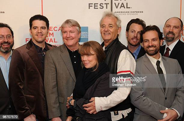 Sony Pictures Classics CoPresident Michael Barker director Aaron Schneider producer David Gundlach actress Sissy Spacek actor Bill Murray producer...