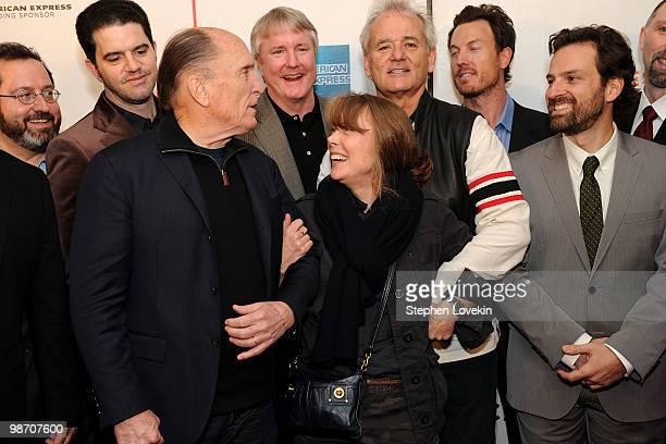 Sony Pictures Classics CoPresident Michael Barker director Aaron Schneider actor Robert Duvall producer David Gundlach actress Sissy Spacek actor...