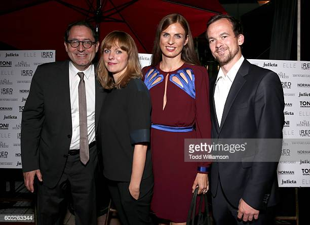 Sony Pictures Classics Co-President Michael Barker, director Maren Ade and producers Janine Jackowski and Jonas Dornbach attend the Sony Pictures...