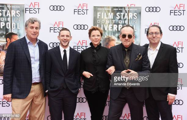 Sony Pictures Classics CoPresident Tom Bernard actor Jamie Bell actress Annette Bening musician Elvis Costello and Sony Pictures Classics CoPresident...