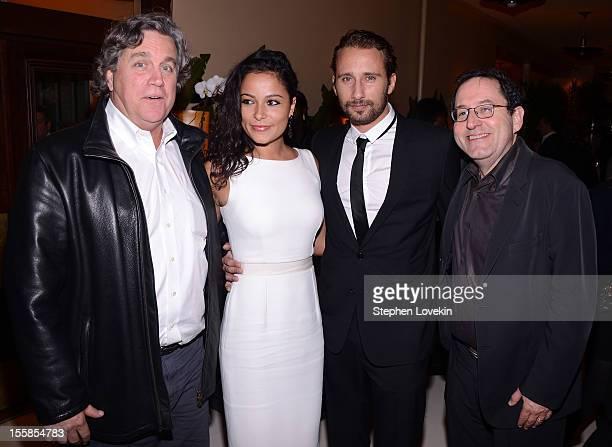 Sony Pictures Classics copresident Tom Bernard Alexandra Schouteden actor Matthias Schoenartts and Sony Pictures Classics copresident Michael Barker...