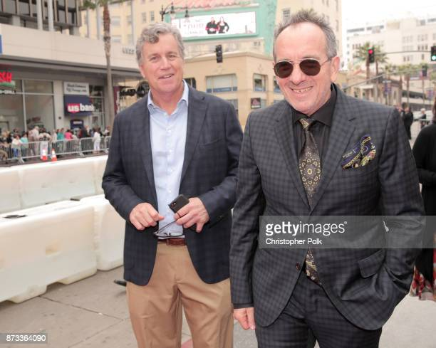"""Sony Pictures Classics Co-President Tom Bernard and Elvis Costello attend the screening of """"Film Stars Don't Die In Liverpool"""" at AFI FEST 2017..."""