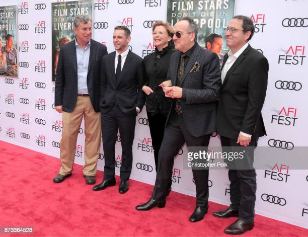 Sony Pictures Classics Co-President Tom Bernard, Jamie Bell, Annette Bening, Elvis Costello, and Sony Pictures Classics Co-President Michael Barker...