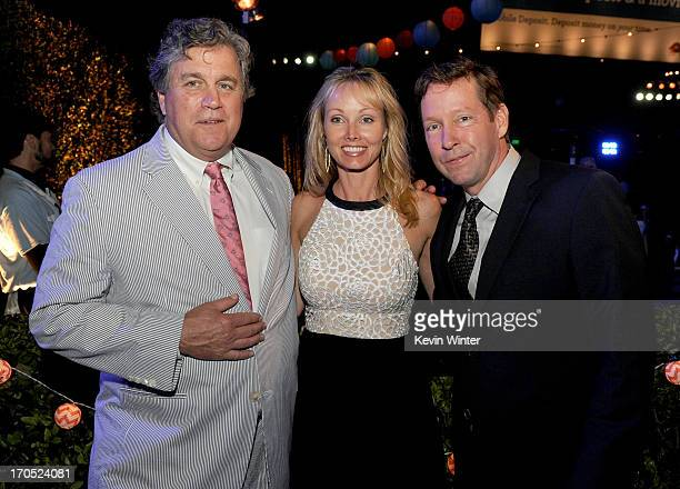 "Sony Pictures Co-Founder and Co-President Tom Bernard, Ashley Vachon and actor D.B. Sweeney attend the premiere of Sony Pictures Classics ""I'm So..."