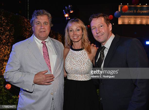Sony Pictures CoFounder and CoPresident Tom Bernard Ashley Vachon and actor DB Sweeney attend the after party for the 2013 Los Angeles Film Festival...
