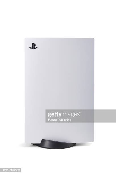 Sony PlayStation 5 home video game console, taken on October 29, 2020.
