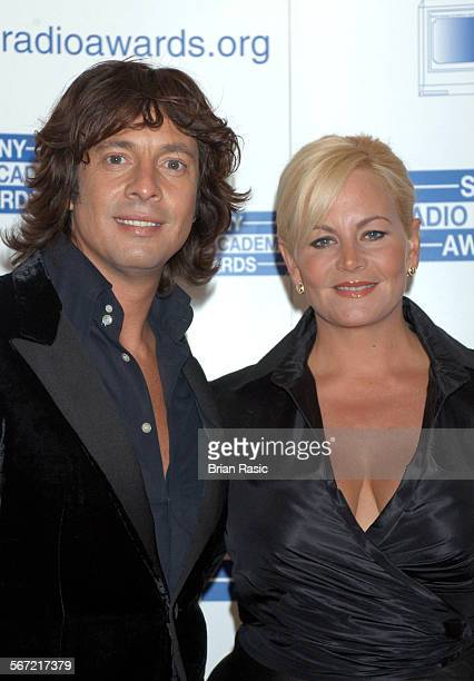 Sony Radio Awards, Grosvenor House Hotel, London, Britain - 12 May 2004, Laurence Llewelyn-Bowen And Wife Jackie