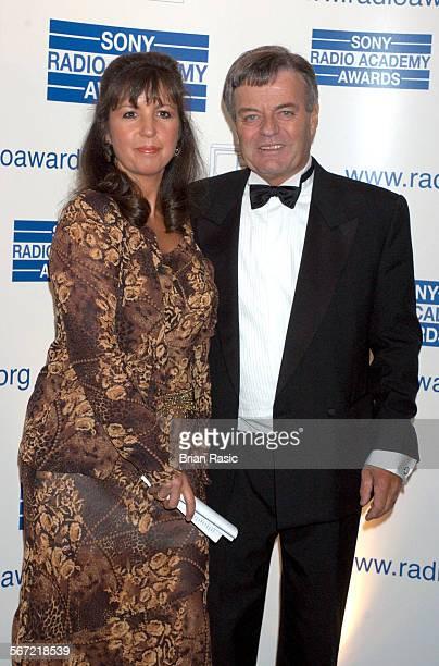 Sony Radio Awards Grosvenor House Hotel London Britain 12 May 2004 Tony Blackburn And Wife Debbie