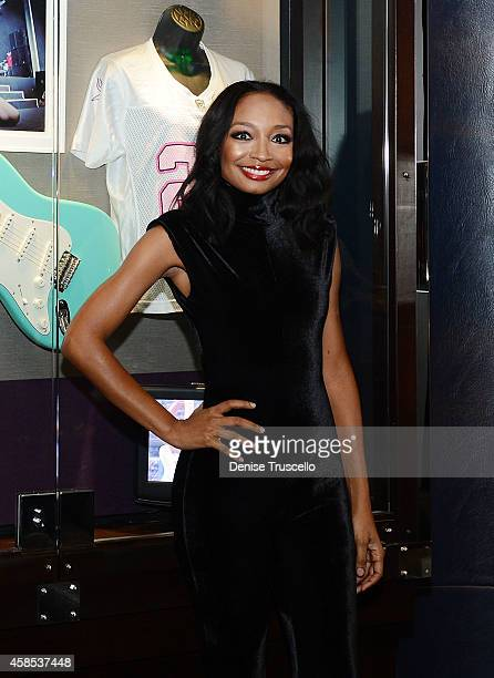 Sony Recording artist Malina Moye during her case induction at the Hard Rock Hotel Casino on November 6 2014 in Las Vegas Nevada