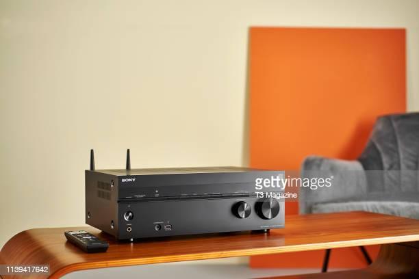 A Sony STRDN1080 Dolby Atmos AV Receiver taken on October 2 2018
