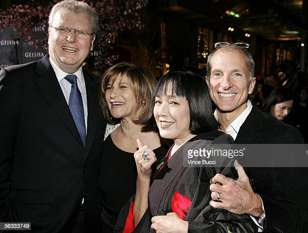 Sony USA chairman Howard Stringer, Sony Pictures chairman Amy Pascal, actress Kaori Momoi and co-producer John DeLuca attend the Los Angeles premiere...