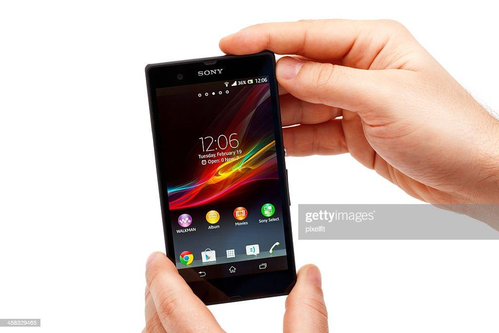 Sony Xperia Z : Stock Photo