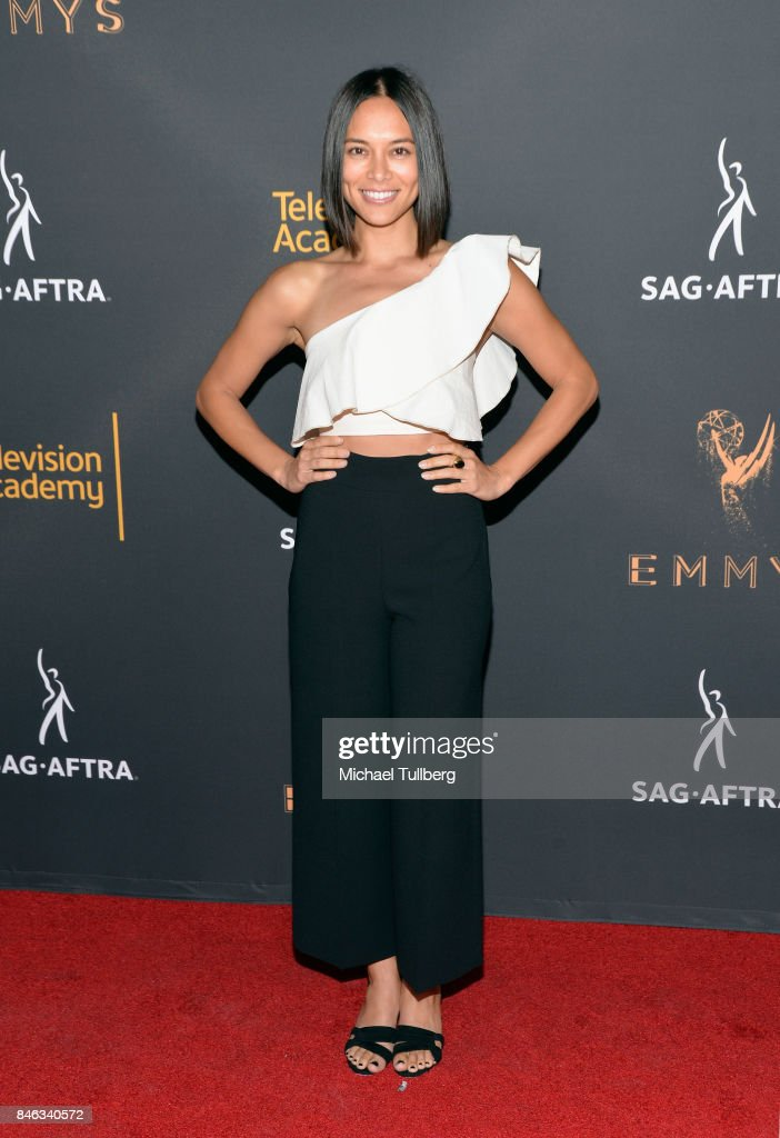 Sonya Balmores attends the Television Academy and SAG-AFTRA's 5th annual Dynamic and Diverse Celebration at Saban Media Center on September 12, 2017 in North Hollywood, California.