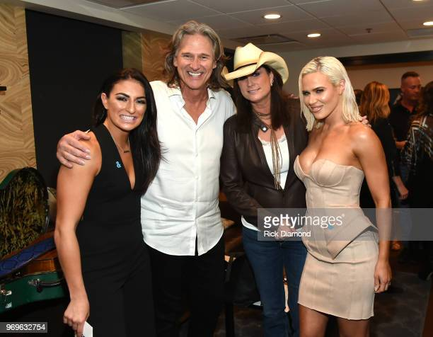 Sonya Billy Dean Terri Clark and Lana attend the GLAAD TY HERNDON's 2018 Concert for Love Acceptance at Wildhorse Saloon on June 7 2018 in Nashville...