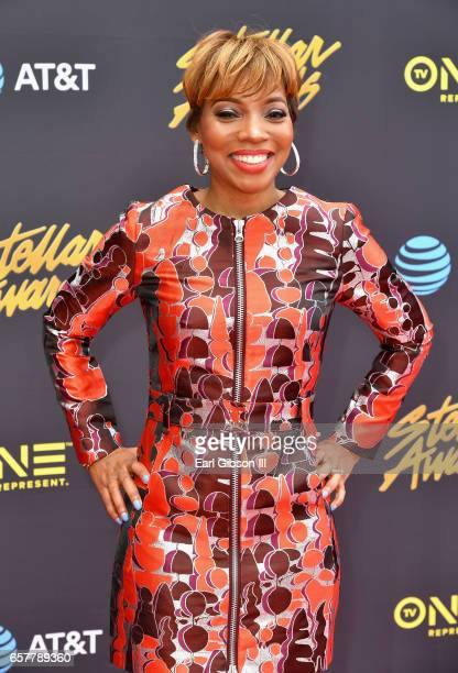 Sonya Blakey arrives at the 32nd annual Stellar Gospel Music Awards at the Orleans Arena on March 25, 2017 in Las Vegas, Nevada.