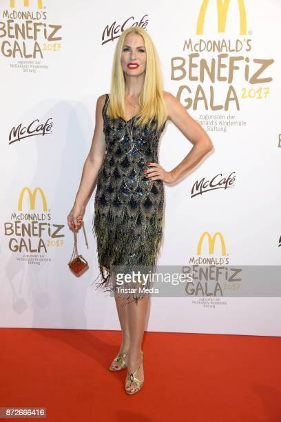 Sonya Kraus attends the McDonald's charity gala at Hotel Bayerischer Hof on November 10 2017 in Munich Germany