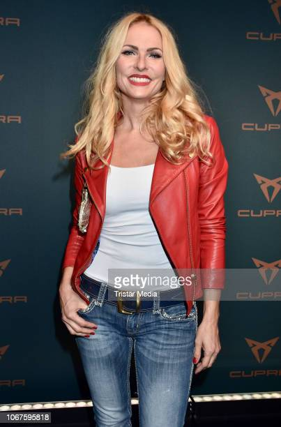 Sonya Kraus during the Cupra x Berlin Night by Seat event at U3Tunnel on November 30 2018 in Berlin Germany