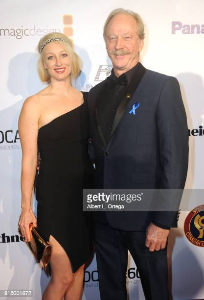 Sonya Novak and David Frederick arrive for Society of Camera Operators Lifetime Achievement Awards held at Loews Hollywood Hotel on February 3 2018...