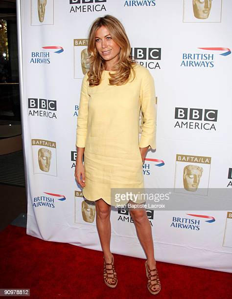 Sonya Walger arrives at the BAFTA LA's 2009 Primetime Emmy Awards TV Tea Party at InterContinental Hotel on September 19 2009 in Century City...
