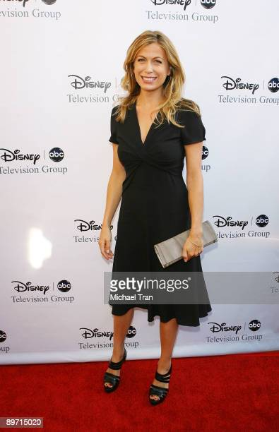 Sonya Walger arrives to the 2009 DisneyABC Television Group Summer TCA Tour held at The Langham Resort on August 8 2009 in Pasadena California