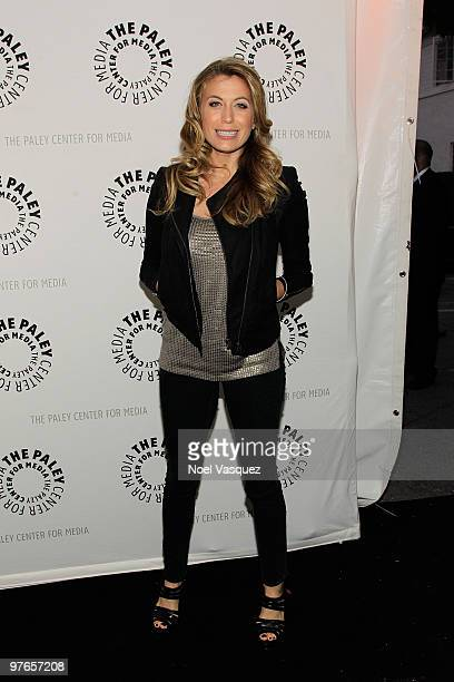 Sonya Walger attends the 27th Annual PaleyFest presents FlashForward at the Saban Theatre on March 11 2010 in Beverly Hills California