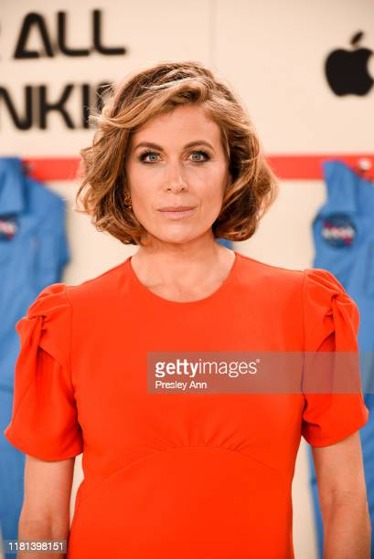 Sonya Walger attends World Premiere of Apple TV's For All Mankind Red Carpet at Regency Village Theatre on October 15 2019 in Westwood California