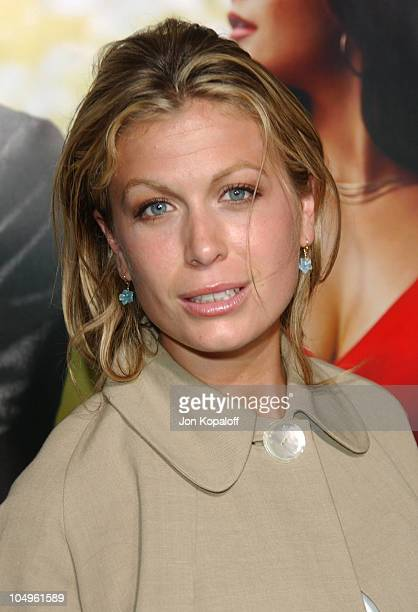 Sonya Walger during Intolerable Cruelty Los Angeles Premiere at The Academy of Motion Picture Arts and Sciences in Beverly Hills California United...