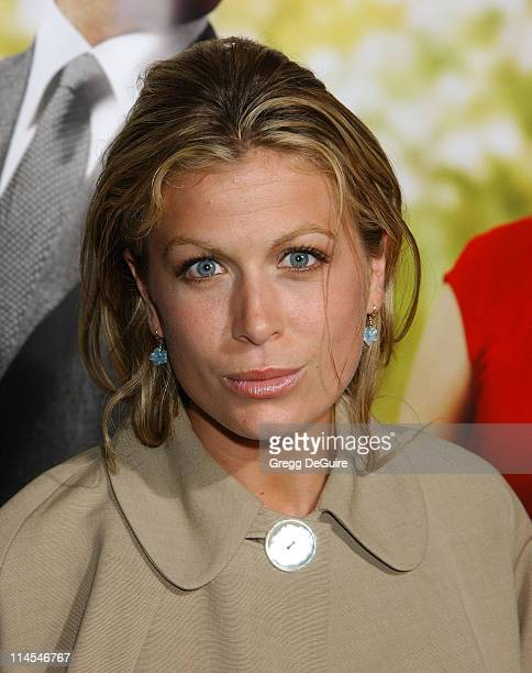Sonya Walger during Intolerable Cruelty Premiere Arrivals at Academy Theatre in Beverly Hills California United States