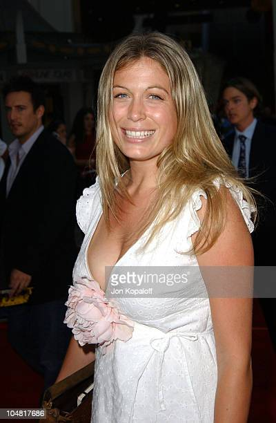 Sonya Walger during The Italian Job Premiere Red Carpet Arrivals at Mann's Chinese Theater in Hollywood California United States