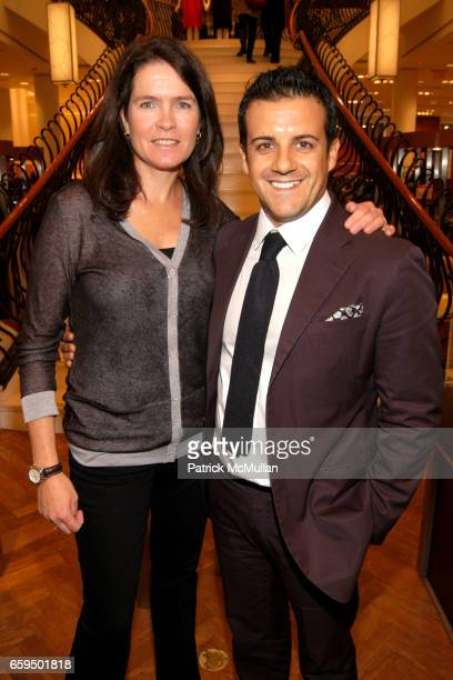 Sonya Wilander and Amedeo Scognamiglio attend FARAONE MENNELLA at Richards of Greenwich for DebRA Bracelet Unveiling at Richards on October 17 2009...