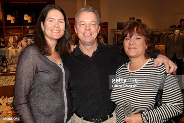 Sonya Wilander Billy Ward and Ann Ward attend FARAONE MENNELLA at Richards of Greenwich for DebRA Bracelet Unveiling at Richards on October 17 2009...