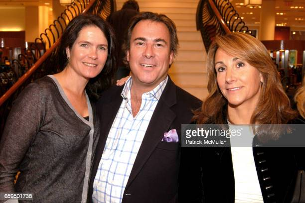 Sonya Wilander Thomas Misisco and Cindy Catterson attend FARAONE MENNELLA at Richards of Greenwich for DebRA Bracelet Unveiling at Richards on...