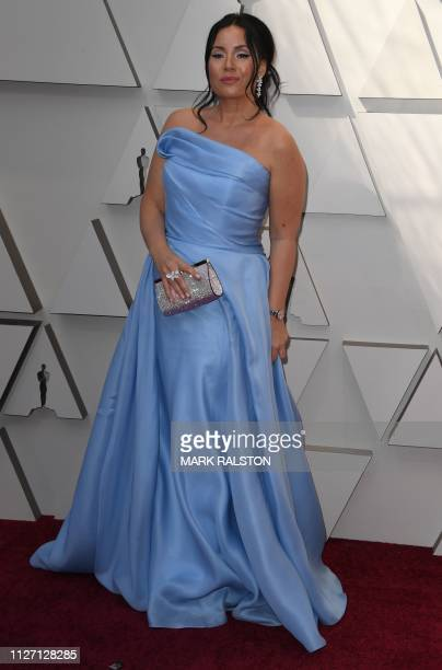 Sonya Yoncheva arrives for the 91st Annual Academy Awards at the Dolby Theatre in Hollywood California on February 24 2019