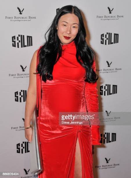 Sonya Yu SFFILM Awards Night CoChair attends the 2017 SFFILM Awards Night at Palace of Fine Arts Theatre on December 5 2017 in San Francisco...