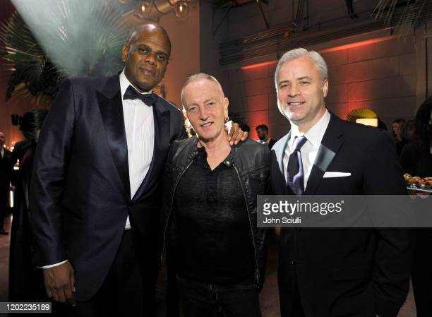 Sony/ATV Music Publishing Chairman CEO Jon Platt Phil Collen of Def Leppard and Sony/ATV Music Publishing President Global Chief Marketing Officer...